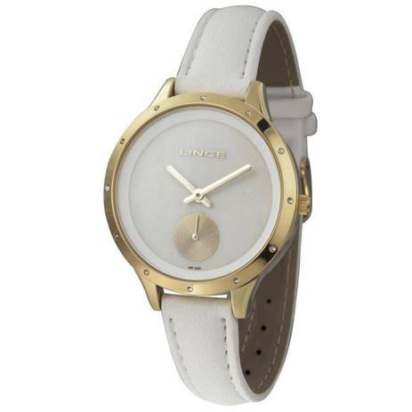 db5078ce388 Relógio Lince Feminino Analógico Branco LRC4529LB1BX - Relógio ...