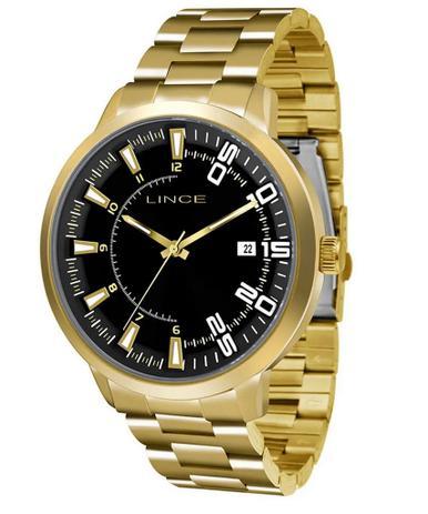 0f4e36f57c5 Relógio Lince Feminino Analógico Dourado MRG4353SP2KX - Relógio ...
