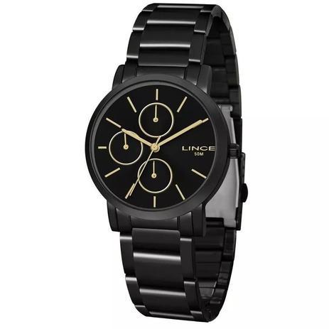 5f861d05b0 Relógio Lince Feminino Analógico Preto LMN4568LP1PX