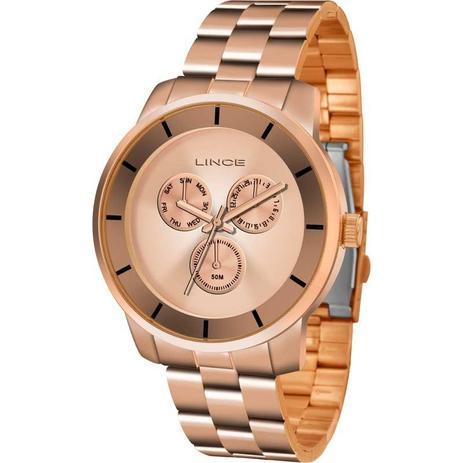c27becbb6dc Relógio Lince Feminino Analógico Rosé LMR4478LR1RX - Relógio ...