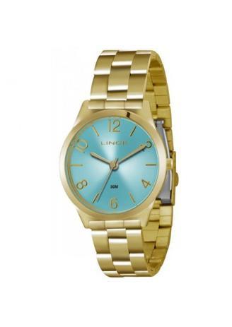 997bc109123 Relógio Lince Feminino Dourado LRG4301L A2KX - Relógio Feminino ...