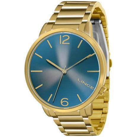 bdbef9d3982 Relógio Lince Feminino Dourado LRGJ043L D2KX - Relógio Feminino ...