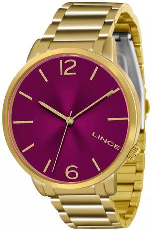 Imagem de Relógio Lince Feminino Dourado LRGJ043L W2KX