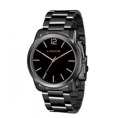 2f0942cf0c0 Relógio Lince Feminino Preto Aço LRY4449L G2GX - Relógio Feminino ...