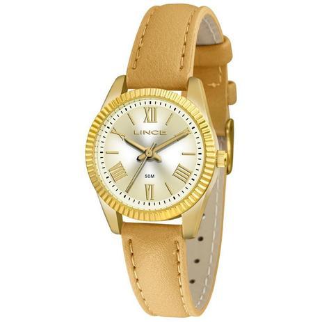 a5d12b153c1 Relógio Lince Feminino Ref  Lrc4509l C3tx Clássico Dourado - Relógio ...