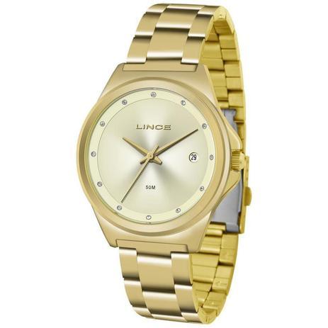 aa3652d3ba7 Relógio Lince Feminino Ref  Lrg4567l C1kx Fashion Dourado - Relógio ...
