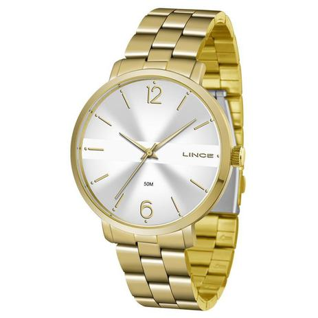 e9ffaf3de1e Relógio Lince Feminino Ref  Lrgj074l S2kx Fashion Dourado - Relógio ...