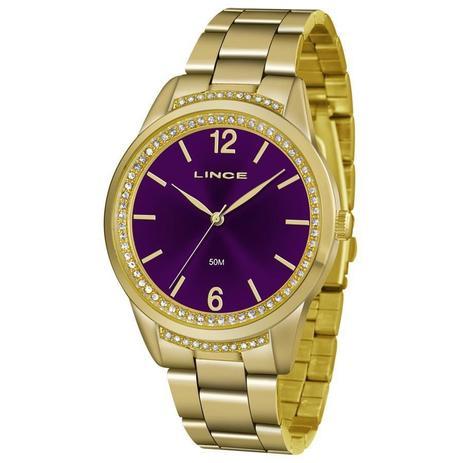 9b4dda2a934 Relógio Lince Feminino Ref  Lrgj075l U2kx Fashion Dourado - Relógio ...