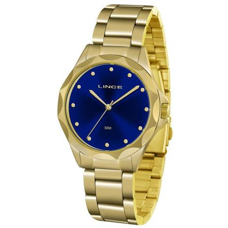b2eac07a1d5 Relógio Lince Feminino Ref  Lrgj076l D1kx Fashion Dourado - Relógio ...