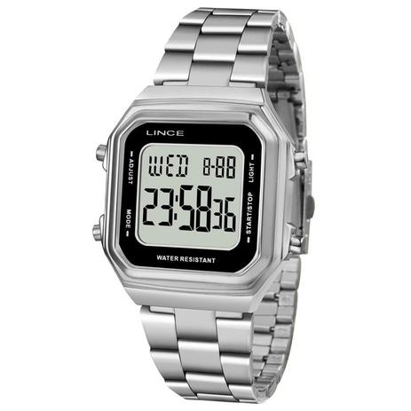 0c7bbd90686 Relógio Lince Feminino Ref  Sdm615l Bxsx Digital Prateado - Relógio ...