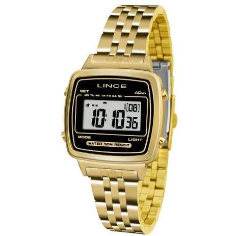 b9fa19b2da Relógio Lince Feminino Sdph040l Bpkx Digital Dourado - Relógio ...