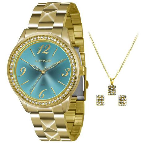 c357ef3c125 Relógio Lince Kit Feminino Lrg4343l Ku22