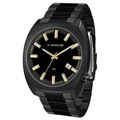 1665b6676558b Relógio Lince Masculino Grande Mrn4584s P1px original Casual Black ...