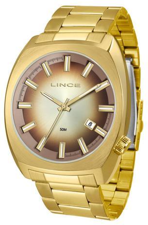7739485a57a Relógio Lince Masculino Quadrado Grande Mrg4585s N1kx - Relógio ...