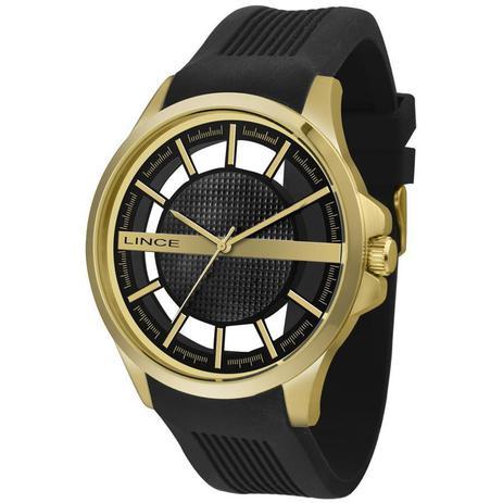 36748b8926e Relógio Lince Masculino Ref  Mrp4579s P1px Casual Dourado - Relógio ...