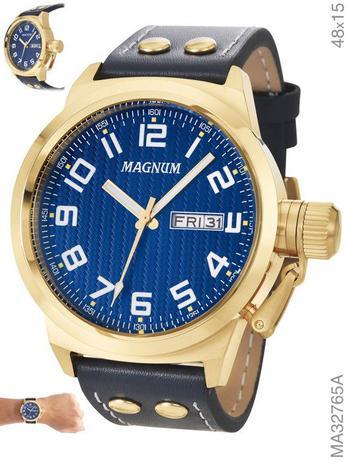 f0a8dd21824 Relógio Magnum Masculino MA32765A - Relógio Masculino - Magazine Luiza