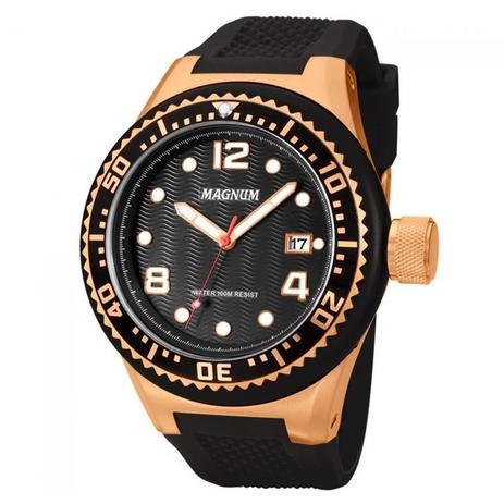 06a24d4dd44 Relógio Magnum Masculino - MA34021P - Relógio Masculino - Magazine Luiza