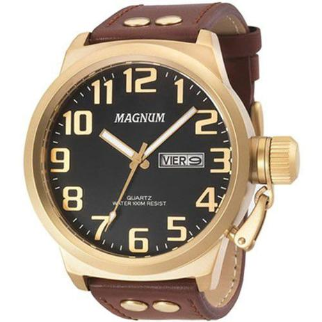 Imagem de Relógio Magnum Masculino Prova D'Água Calendário MA32952P