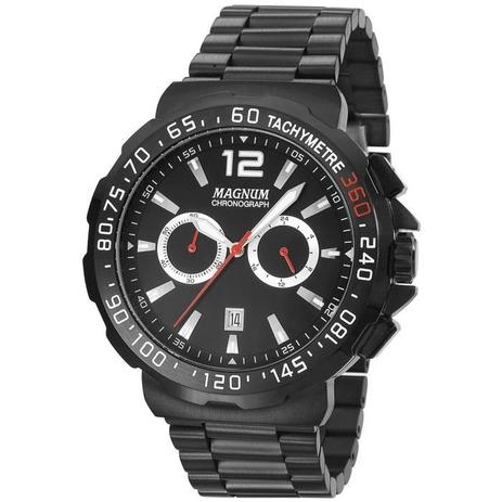 cd2953f9b7d Relógio Magnum Masculino Ref  Ma33657p Black - Relógio Masculino ...