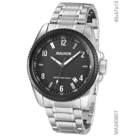 1433655495d Relógio Magnum Masculino Ref  Ma34085t - Relógio Masculino ...