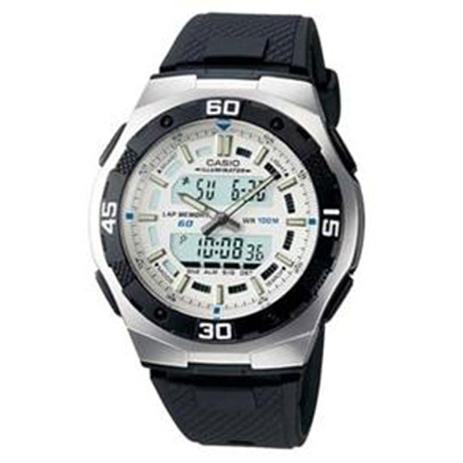 8afc1daa0cd Relógio Masculino Anadigi Casio AQ-164W-7AVD - Preto - Relógio ...