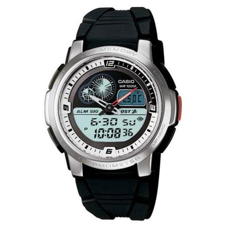 e578817fca2 Relógio Masculino Anadigi Casio AQF-102W-7BV - Preto - Relógio ...