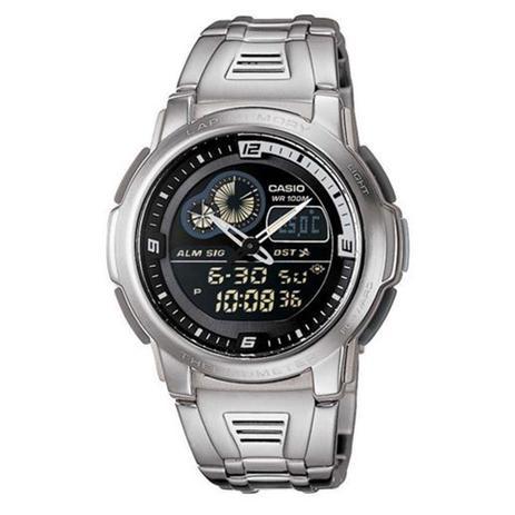 ad219282f85 Relógio Masculino Anadigi Casio AQF-102WD-1BVDF - Prata - Casio ...