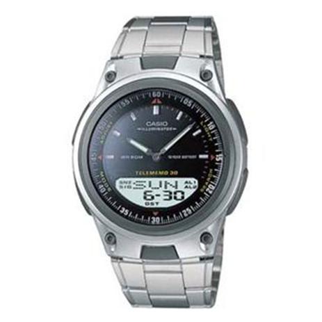 85e92d852fb Relógio Masculino Anadigi Casio Standard AW-80D-1AV - Inox Preto ...
