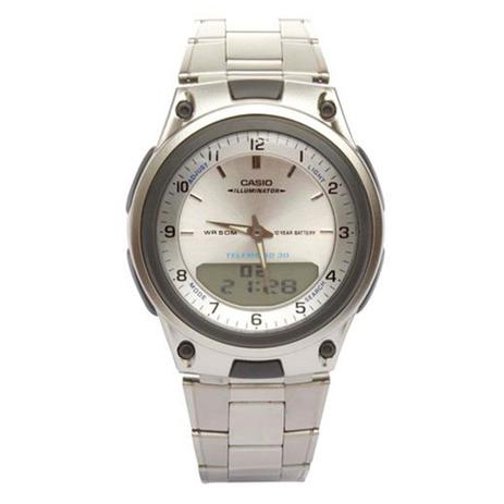 ea0650e65c0 Relógio Masculino Anadigi Casio Standard AW-80D-7A - Prata - Relógio ...