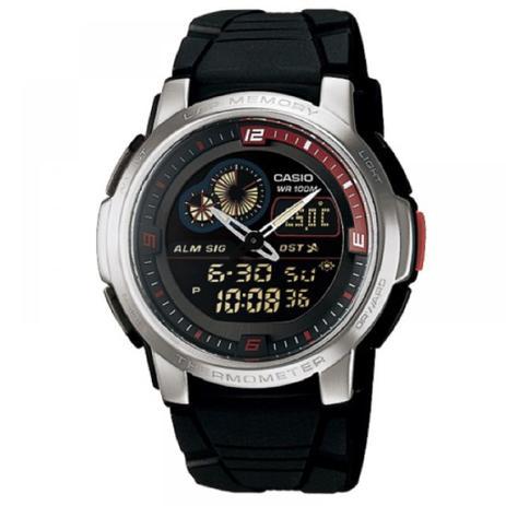 3dc976f60b3 Relógio Masculino Analogico Digital Casio AQF-102W-1BVDF - Relógio ...