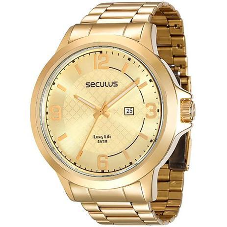 Imagem de Relógio Masculino Analógico Seculus 28660gpsvda2