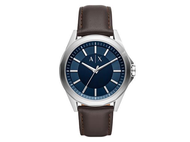 36b53d2be Relógio Masculino Armani Exchange Analógico - Prata e Marrom Drexler  AX2622/0MN