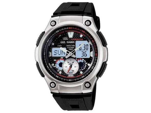 ee92307de02 Relógio Masculino Casio Anadigi - AQ-190W-1AVD - Relógio Masculino ...