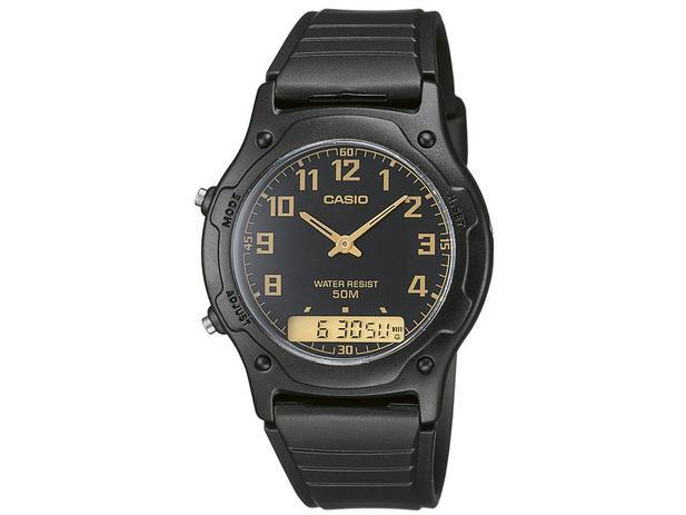 a740fe6cd6a Relógio Masculino Casio Anadigi - AW-49H-1BVDF - Relógio Masculino ...