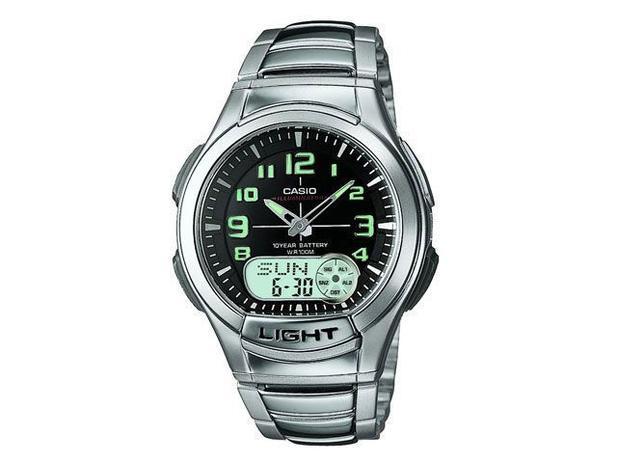 d41fbfa8d9a Relógio Masculino Casio Anadigi - Mundial AQ 180WD 1BV - Relógio ...