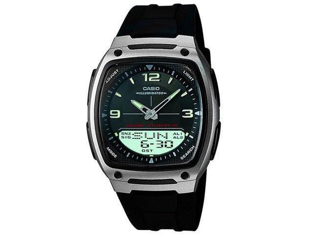 e49884981cd Relógio Masculino Casio Anadigi - Mundial AW-81-1A1VDF - Relógio ...