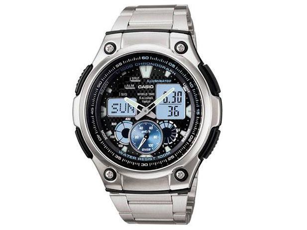 Relógio Masculino Casio Anadigi - Resistente à Água Cronógrafo AQ-190WD-1AV 55311dc8ef
