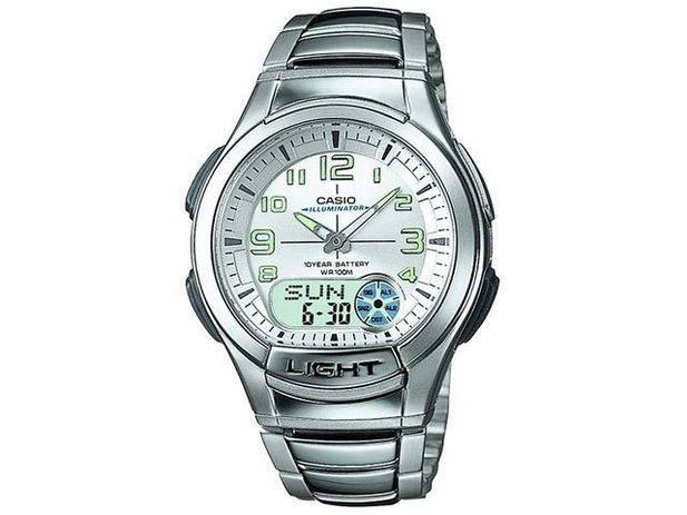 6ab81c3cd52 Relógio Masculino Casio Analógico - AQ 180WD 7BV - Relógio Masculino ...