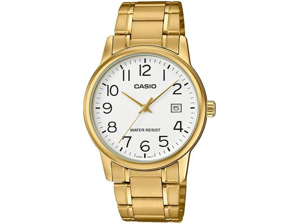 35140d69752 Relógio Masculino Casio Analógico - Collection MTP-V002G-7B2UDF ...