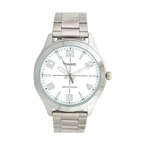 0fa20d4ab2f Relógio Masculino Casio Analógico MTPVX01D7BUDF Prata - Relógio ...