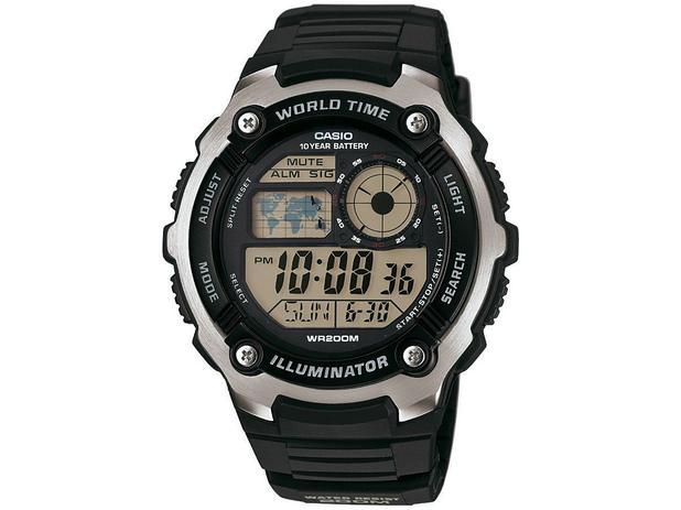 cb1a081b2f5 Relógio Masculino Casio Digital - AE-2100W-1AVDF - Relógio Masculino ...