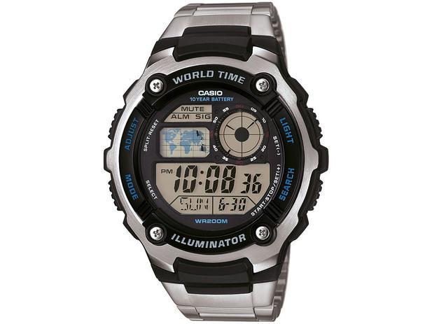 09d28179e4d Relógio Masculino Casio Digital - AE-2100WD-1AVDF - Relógio ...