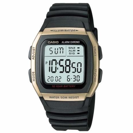 6a324bf40b13a Relogio Masculino Casio Digital Com Alarme - W-96h-9avdf - Relógio ...
