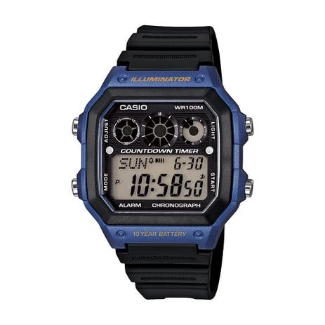 Relógio Masculino Casio Digital Esportivo AE-1300WH-2AVDF - Casio ... fd924c388f