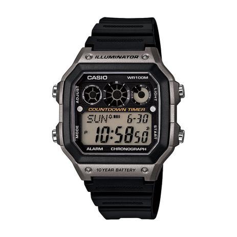 6d1568fb9bb7f Relógio Masculino Casio Digital Esportivo AE-1300WH-8AVD - Relógio ...