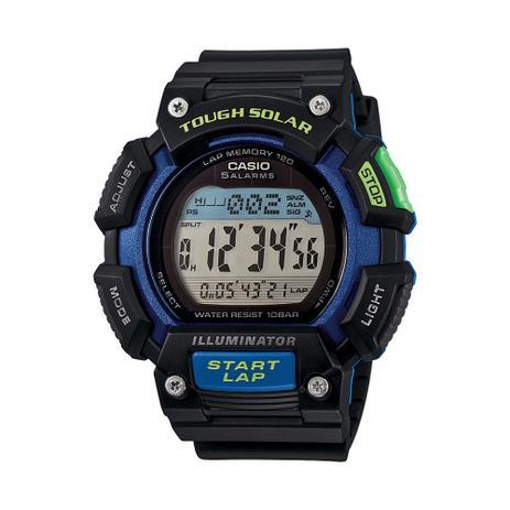 Relógio masculino casio digital esportivo stl-s110h-1bdf - Casio ... 4fada60f37