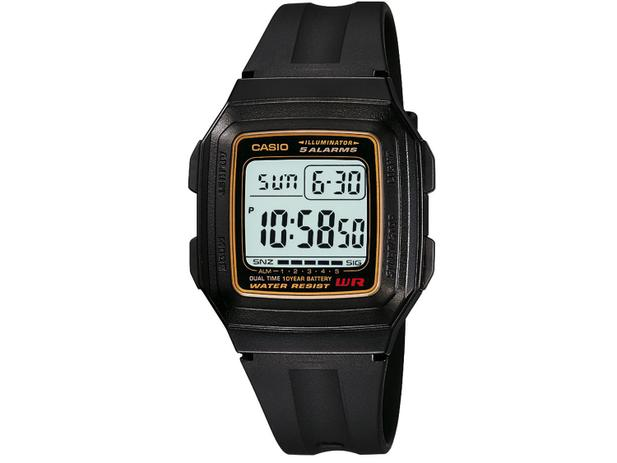 fa3aedffdf3 Relógio Masculino Casio Digital - F-201WA-9ADF - Relógio Masculino ...