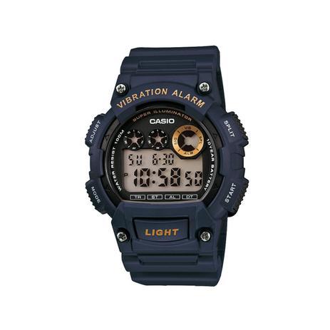 26623ac3487 Relógio Masculino Casio Digital Social W-735H-2AVDF - Azul - Relógio ...