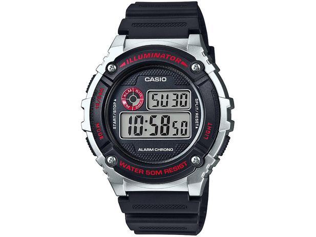 ef52f97785e Relógio Masculino Casio Digital - W-216H-1CVDF - Relógio Masculino ...