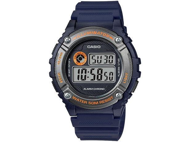 bc8ebc56bfb Relógio Masculino Casio Digital - W-216H-2BVDF - Relógio Masculino ...